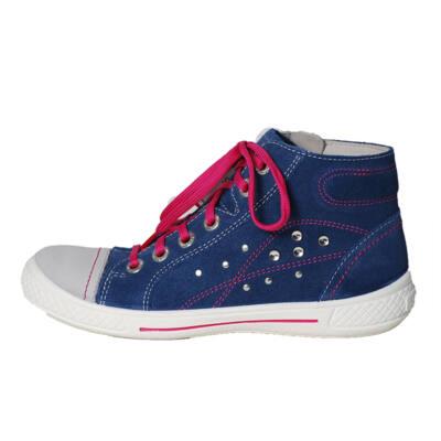 Superfit kék-rózsaszín magasszárú cipő