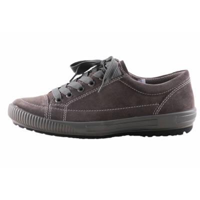 Legero sötétkék, szürke talpú, fűzős, átmeneti cipő