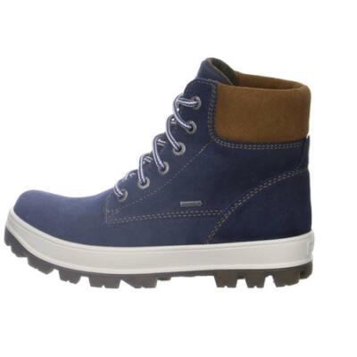 Superfit kék-barna vízálló, Gore-Tex, fűzős bakancs