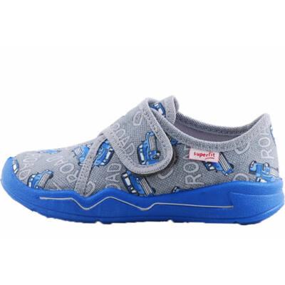 Szürke-kék autós, Superfit vászoncipő