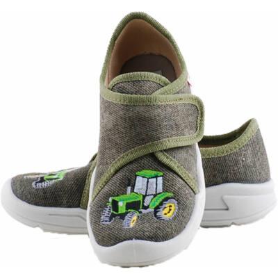 Keki, traktoros, Superfit, vászoncipő