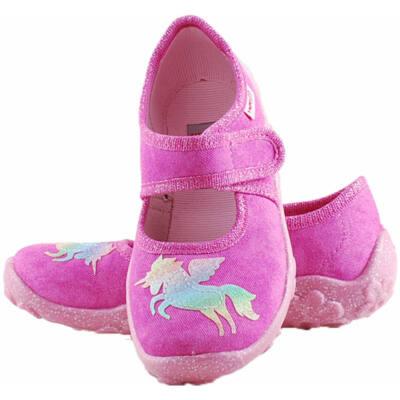 Pink, csillogó pegazusos, Superfit vászoncipő