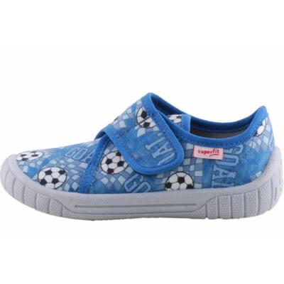 Kék, focilabdás, Superfit vászoncipő