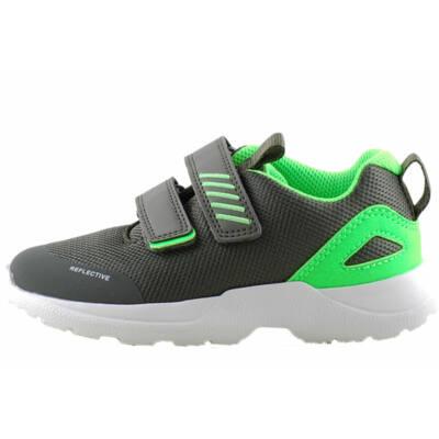 Zöld, neonzöld, extra hajlékony talpú, Superfit edzőcipő