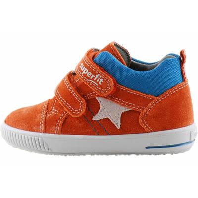 Rozsdbarna-kék, csillagos, Superfit cipő