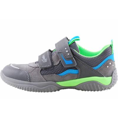 Szürke-kék-neon, Superfit edzőcipő