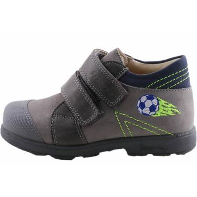 Szürke, kék focis, Szamos supinált cipő