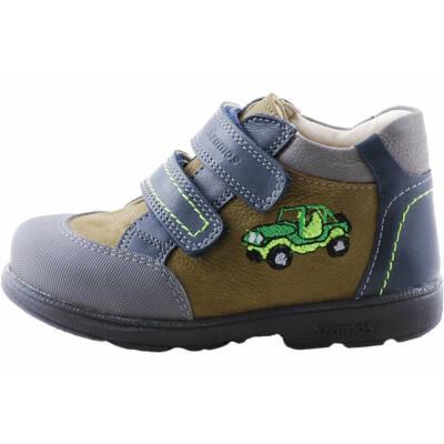 Kék-keki, autós, Szamos supinált cipő
