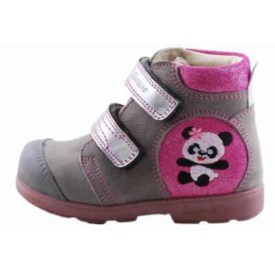 Szürke-pink, pandamacis Szamos supinált cipő
