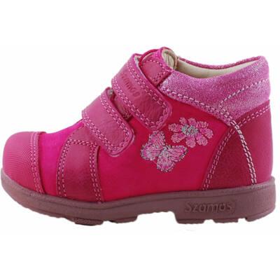 Pink, virágos, pillangós, Szamos supinált cipő