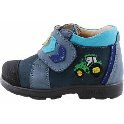 Kék-zöld traktoros, Szamos supinált cipő