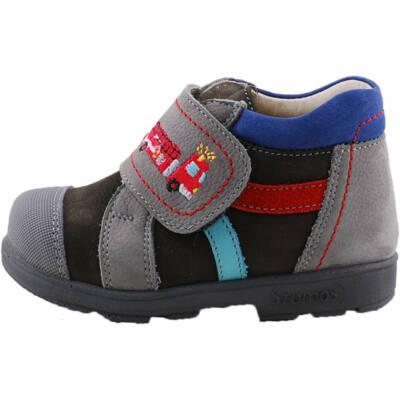 Szürke, tűzoltóautós, Szamos supinált cipő