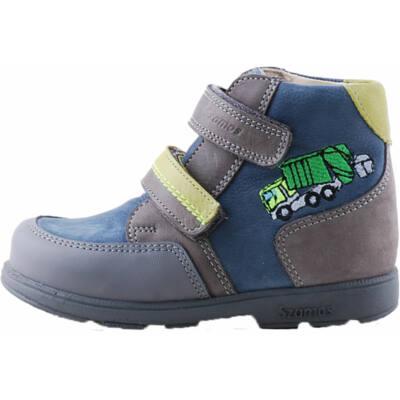Szürke-kék, kamionos, Szamos supinált cipő