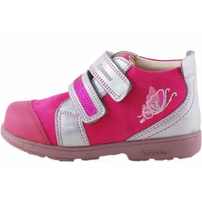 Pink, ezüst pillangós, Szamos supinált cipő