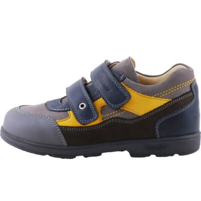 Szürke-sárga, sportos, Szamos supinált cipő