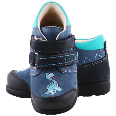 Kék-zöld dínós, Szamos supinált gyerekcipő