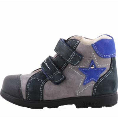 Szürke, kék csillagos, Szamos supinált cipő