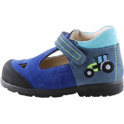 Kék, traktoros, Szamos szpinált szandálcipő