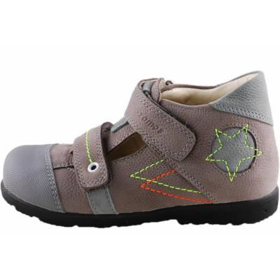 Szürke, neon csillagos, Szamos supinált tavaszi cipő