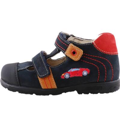Kék-barna, piros autós, Szamos supinált szandálcipő