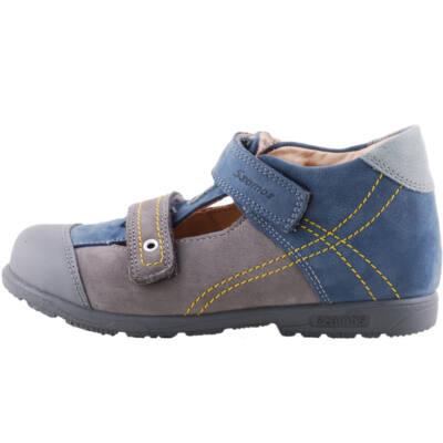 Szürke-kék, Szamos supinált szandálcipő