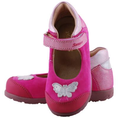Pink, ezüst pillangós, Szamos supinált balerina