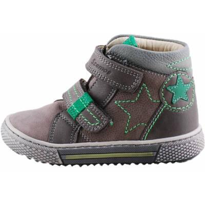 Szürke-zöld, csillagos, Szamos cipő