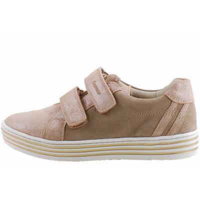 Csillogó, mogyoró-arany, Szamos lányka cipő