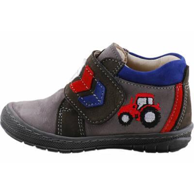 Szürke, traktoros, puha talpú, Szamos cipő