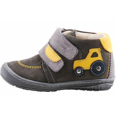 Szürke-mustár, traktoros, hajlékony talpú, Szamos cipő