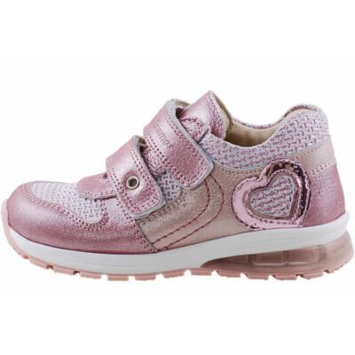 Rózsaszín-ezüst, világító talpú, Szamos cipő