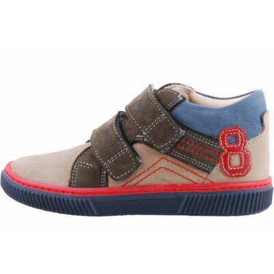 Mogyoró-antracit-kék, Szamos cipő
