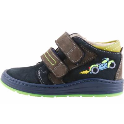 Kék, neon talpú, motoros, Szamos cipő