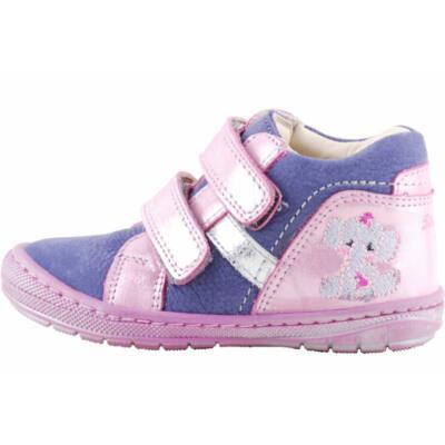 Kék, csillogós rózsaszín, elefántos, hajlékony talpú, Szamos cipő