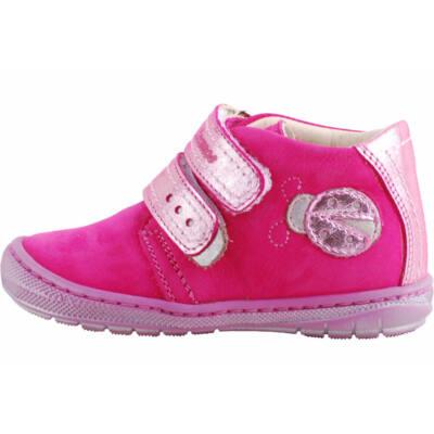 Pink, csillogós katicás, hajlékony talpú, Szamos cipő