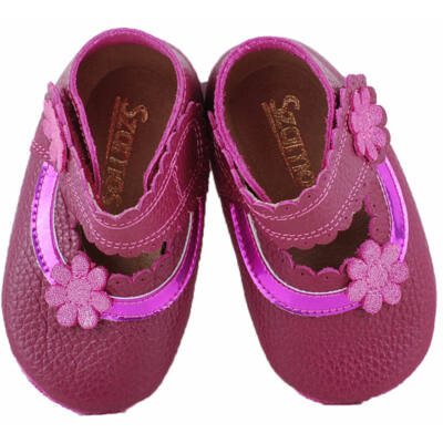Bordó, pink virágos, puhatalpú Szamos cipő