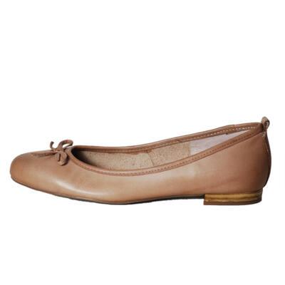 Tamaris bézs masnis balerina