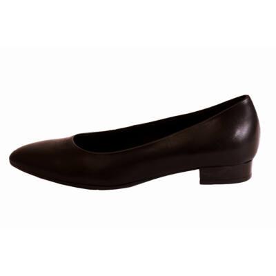 Tamaris fekete alkalmi cipő