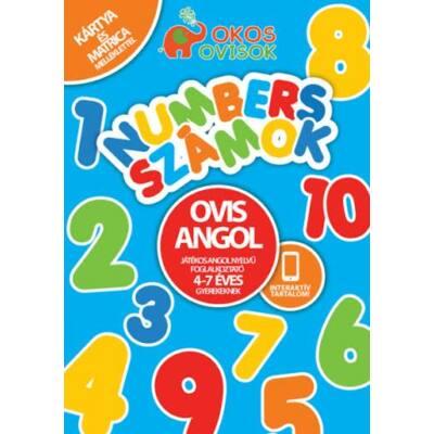 Ovis Angol - Játékos angol nyelvű foglalkoztató 4-7 éves gyerekeknek Numbers-számok
