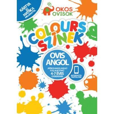 Ovis Angol -Játékos angol nyelvű foglalkoztató 4-7 éves gyerekeknek Colours -Színek