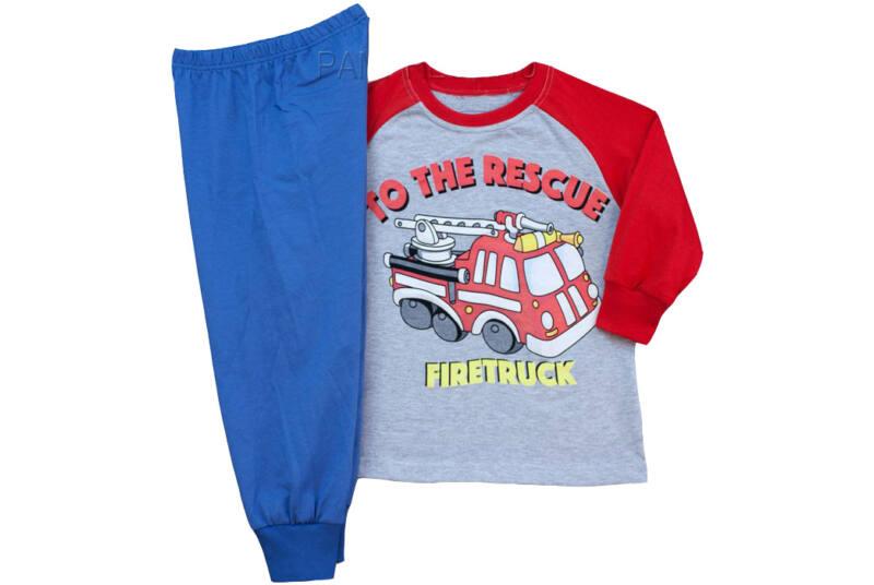 Pampress tűzoltós pizsama - Levendula gyerekcipő f153462344