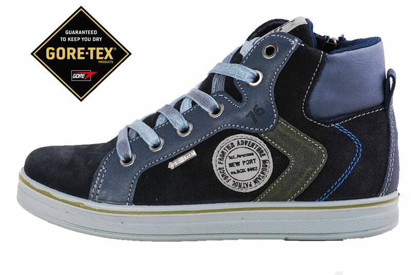 52b1ca87d039 Primigi vízálló Gore-tex, fekete-szürke, cipzáras-fűzős cipő Katt rá a  felnagyításhoz