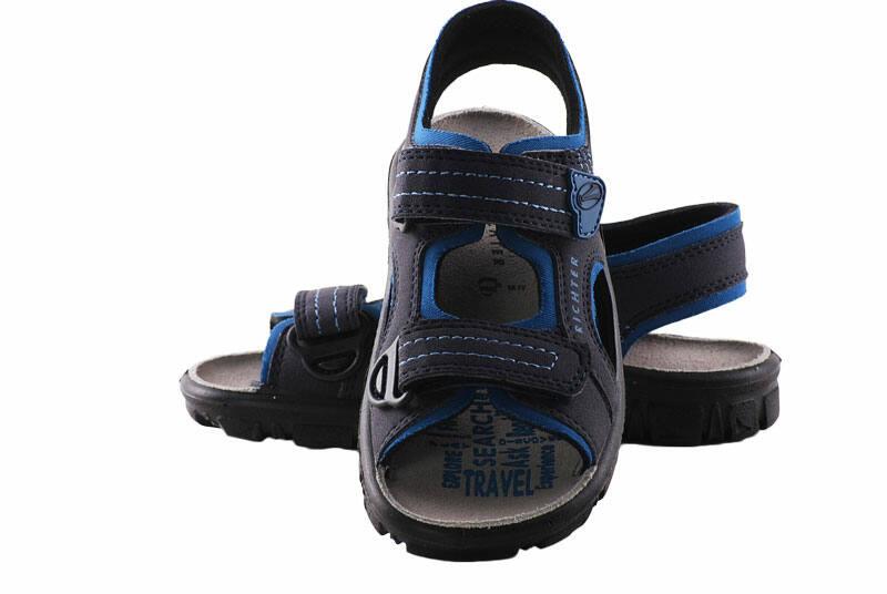 Richter sötétszürke-kék sportos szandál - Levendula gyerekcipő ffa4b37e12