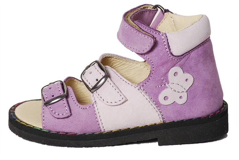 Salus supinált F50 lány szandál - Levendula gyerekcipő 3f9308e473