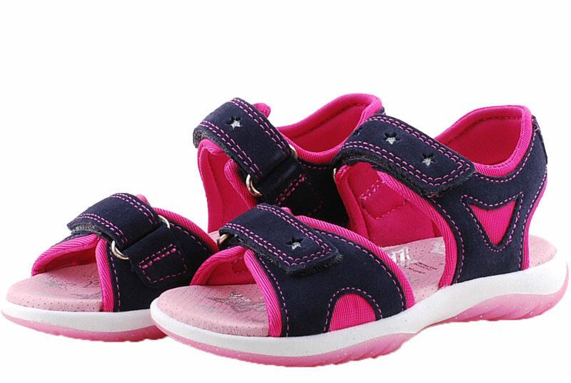 bd3d308067 Kék-pink, ezüst csillagos, Superfit szandál - Levendula gyerekcipő ...