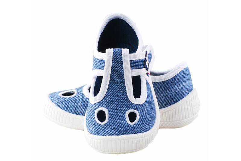 Kék vasmacskás Superfit nyitott vászoncipő - Levendula gyerekcipő c22294a098