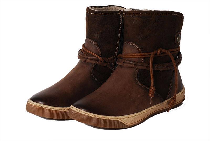 ab80b80bc2 Tamaris barna bélelt csizma - Levendula gyerekcipő webáruház